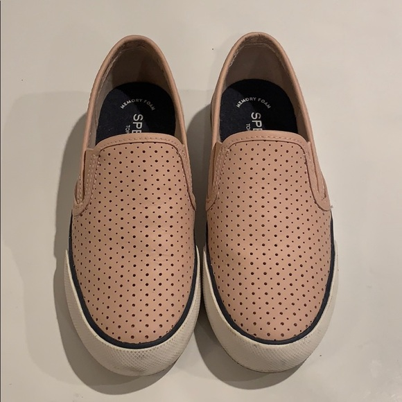Sperry Shoes | Womens Blush Pink Slip